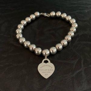 "🆕8"" Tiffany ❤️ Beaded Bracelet ""Return To"""